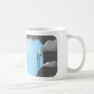 "HP1548, ""Harold's Planet"", ""things will get better Basic White Mug"
