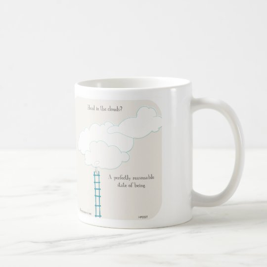 "HP2227 ""Harold's Planet"" head in the clouds Coffee"