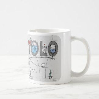 "HP2352 ""Harold's Planet"" YOLO Live Once Only Basic White Mug"