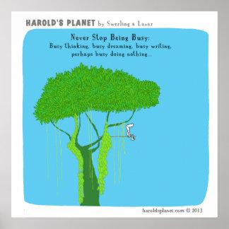 HP5015 Harold s Planet Poster