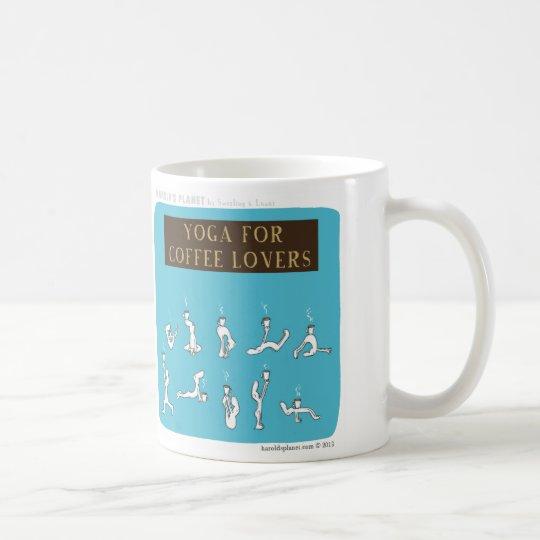 "HP5089 ""Yoga for Coffee Lovers ""Harold's"