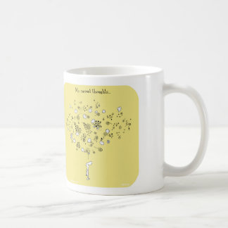 """HP5123, """"Harold's Planet"""", """"my current thoughts"""", Basic White Mug"""