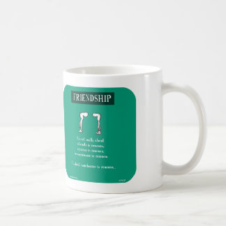 HP5137, friendship, weirdness Coffee Mug