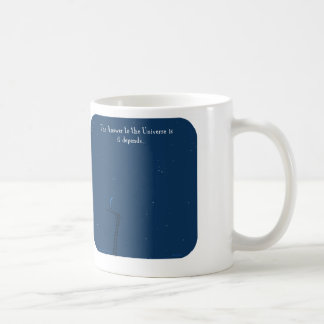 "HP5143, ""Harold's Planet< answer, universe, depend Classic White Coffee Mug"