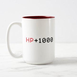 HP 1000 8 bit game mug