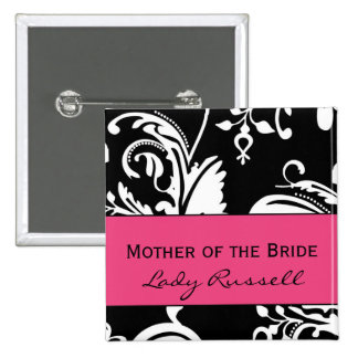 HP&B Mother of the Bride Square Button