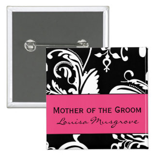 HP&B Mother of the Groom Square Button