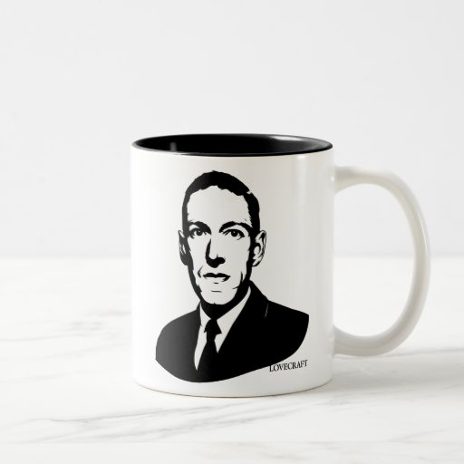 HP Lovecraft Portrait Mugs