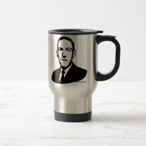 HP Lovecraft Portrait Coffee Mug