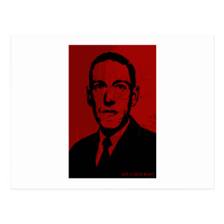 HP Lovecraft Portrait Postcard