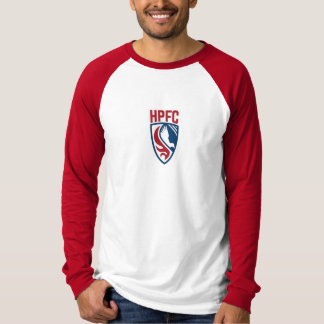 HPFC Red & White Long Sleeve Shirt