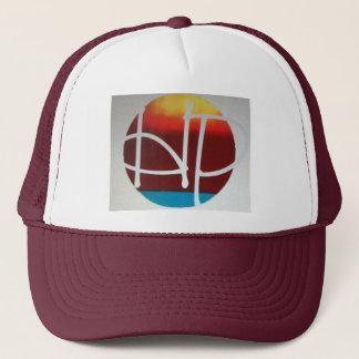 hPOSCH Sunset Logo hat (burgundy)
