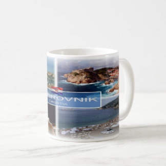 HR Croatia - Dubrovnik - Coffee Mug