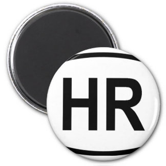 """HR"" Croatia Magnet"