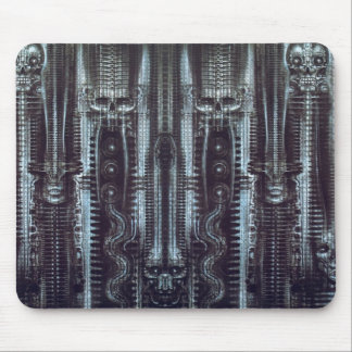 hr_giger_newyorkcity_XI_exotic-corrected-tiled Mouse Pad
