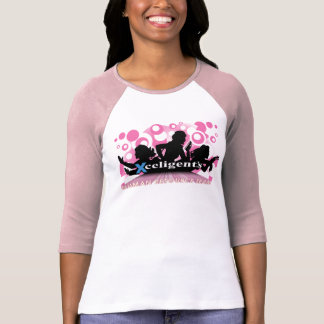 HR Ladies of Action Raspberry Raglan T-Shirt