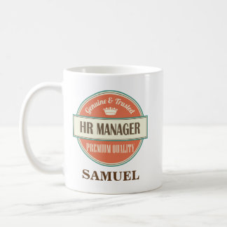 HR Manager Personalized Office Mug Gift