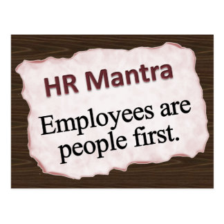 HR Mantra Post Card