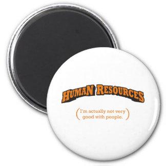HR / People 6 Cm Round Magnet