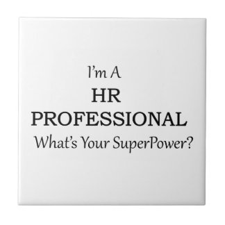 HR Professional Small Square Tile