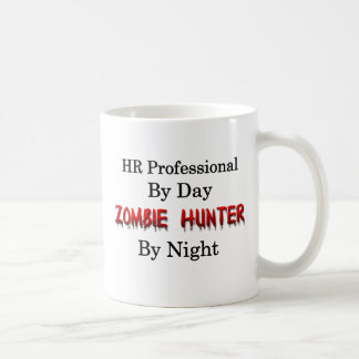 HR Professional/Zombie Hunter Classic White Coffee Mug