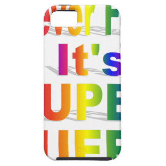 HR Super Queer - Gay.png iPhone 5 Cover