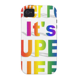 HR Super Queer - Gay.png Vibe iPhone 4 Covers