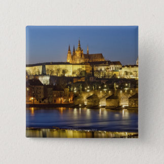 Hradcany Castle 15 Cm Square Badge