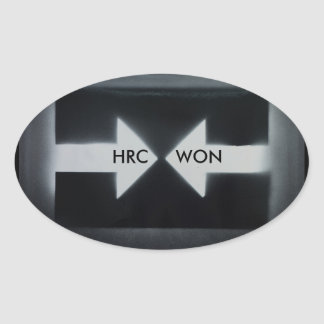 HRC WON/resist Sticker
