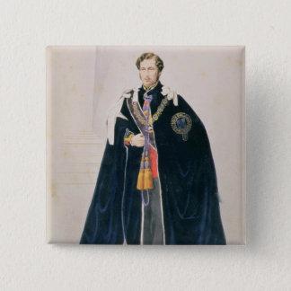 HRH Albert Edward, Prince of Wales 15 Cm Square Badge