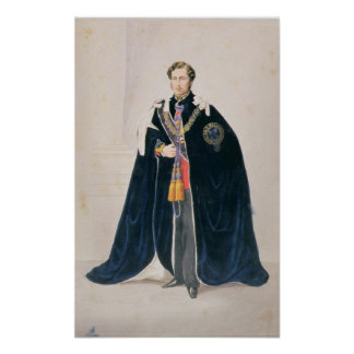 HRH Albert Edward, Prince of Wales Poster