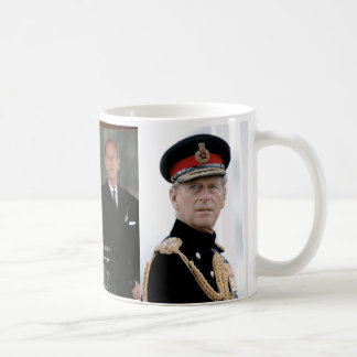 HRH Duke of Edinburgh Basic White Mug