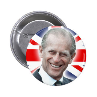 HRH Duke of Edinburgh - Great! 6 Cm Round Badge