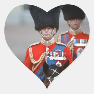 HRH Duke of Edinburgh Heart Sticker