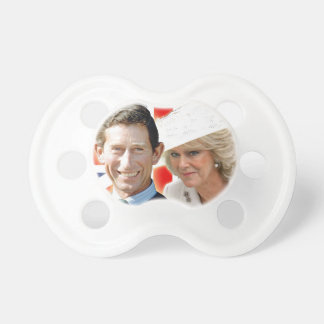 HRH Prince Charles & HRH Duchess of Cornwall Baby Pacifiers