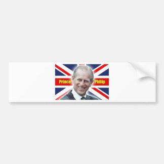 HRH Prince Philip - Super! Bumper Sticker
