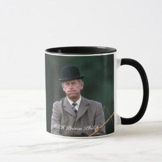 HRH Prince Philip Windsor 1980 Mug