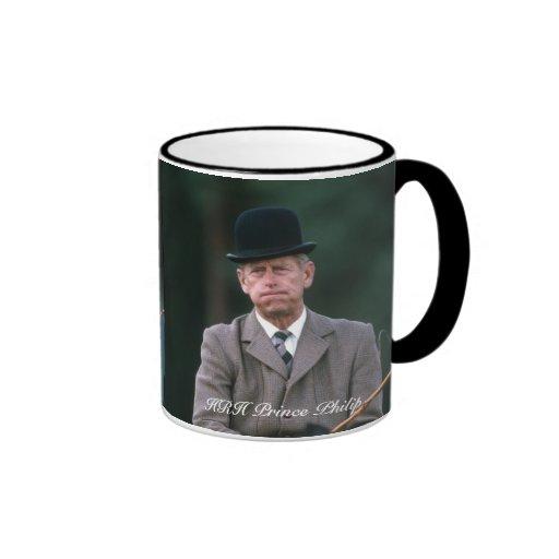 HRH Prince Philip Windsor 1980 Coffee Mug