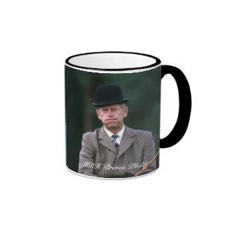 HRH Prince Philip Windsor 1980 Ringer Mug