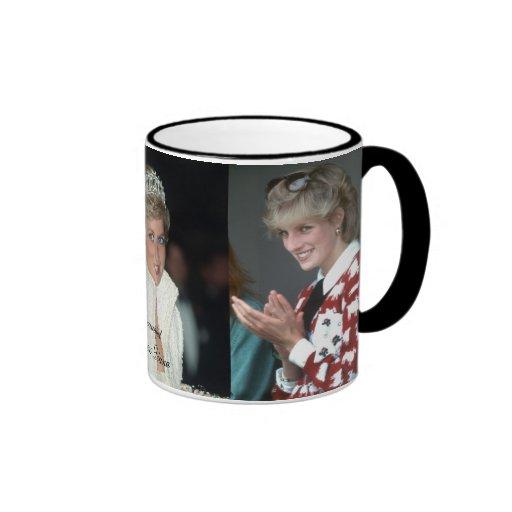 HRH Princess Diana Collection Mugs