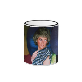 HRH Princess Diana Collection Ringer Mug