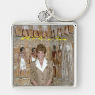 HRH Princess Diana Egypt 1992 Key Chains