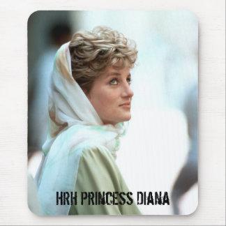 HRH Princess Diana Egypt 1992 Mousemats