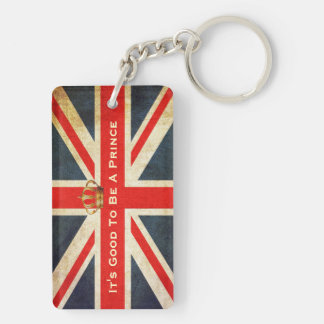 HRH Royal Baby Acrylic Commemorative Key Chain