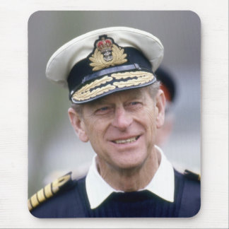 HRH The Prince Philip, Duke of Edinburgh Mouse Pad