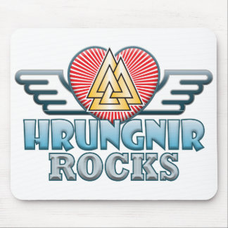 Hrungnir Rocks Mouse Pad