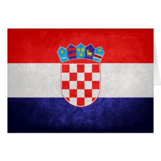 Hrvatska; Croatia Flag Cards
