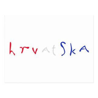 Hrvatska Postkarten