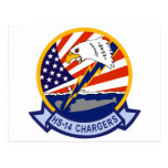 HS-14 Chargers Post Card