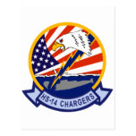 HS-14 Chargers Postcard